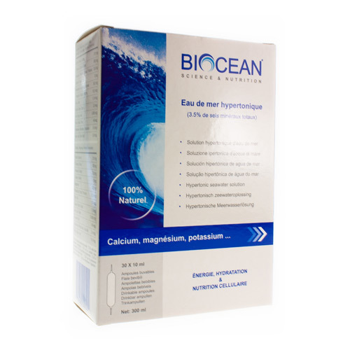 Biocean Hypertonic Quinton  30 X 10 Ml
