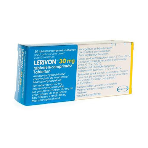 Lerivon 30 Mg (30 Comprimes)
