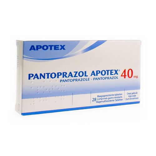 Pantoprazol Apotex 40 Mg (28 Comprimes)