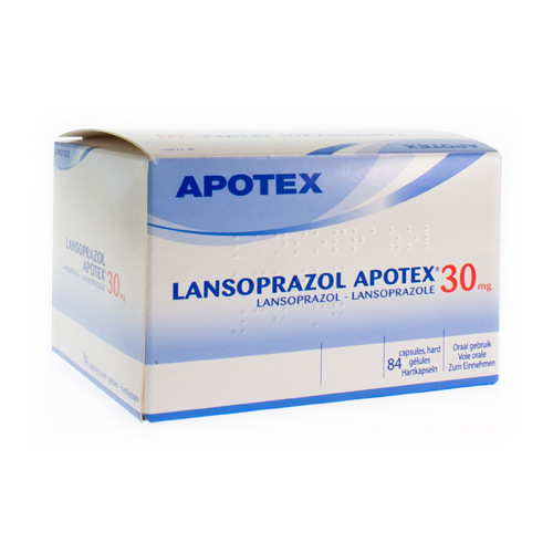Lansoprazol Apotex 30 Mg (84 Gelules)