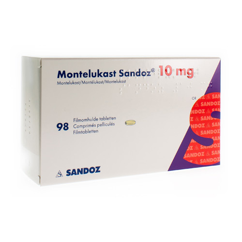 Montelukast Sandoz 10 Mg (98 Comprimes)