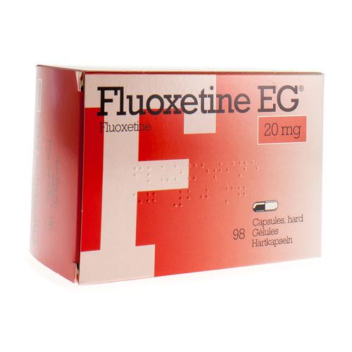 Fluoxetine EG 20 Mg (98 Gelules)