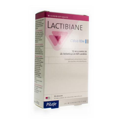 Lactibiane Candisis 10M (14 Capsules)