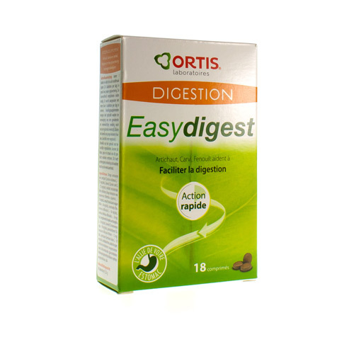 Ortis Easy Digest (18 Comprimes)