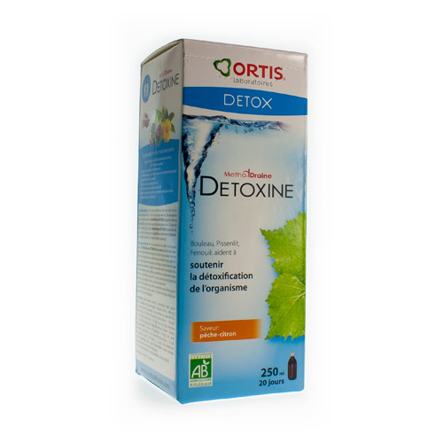 Methoddraine Detoxine Peche-Citr 250Ml