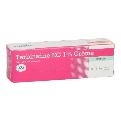 Terbinafine EG Creme 1% (15 Grammes)