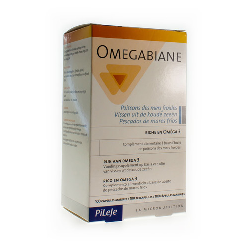 Omegabiane Poissons Pileje 100Caps