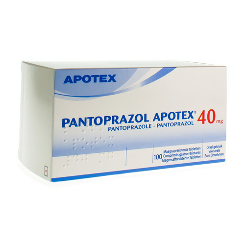 Pantoprazol Apotex 40 Mg (100 Comprimes)