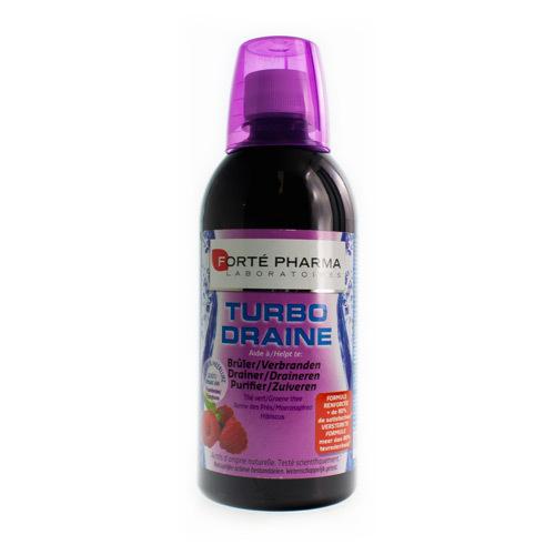 Forte Pharma Turbodraine Framboos (500 Ml)