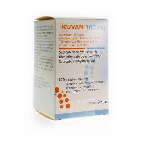 Kuvan 100 Mg (120 Comprimes Dispersibles)