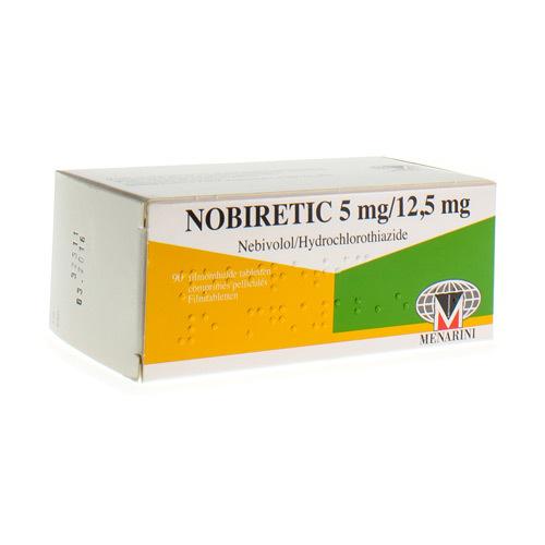 Nobiretic 5 Mg / 12,5 Mg (98 Comprimes)