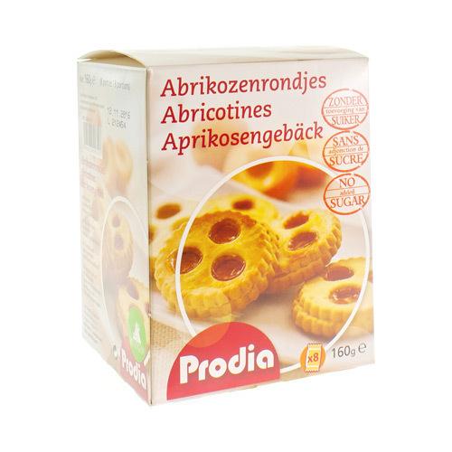 Prodia Abrikozenrondjes 160G