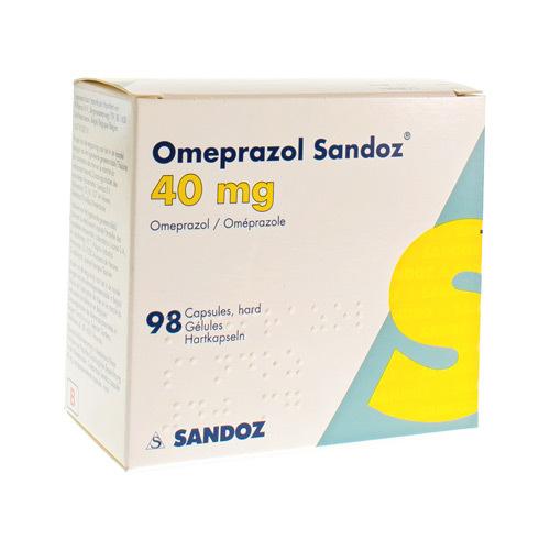 Omeprazol Sandoz 40 mg Pi Pharma Caps 98X40mg Pip