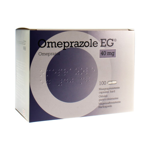 Omeprazole EG Pi Pharma 40 Mg (100 Gelules)