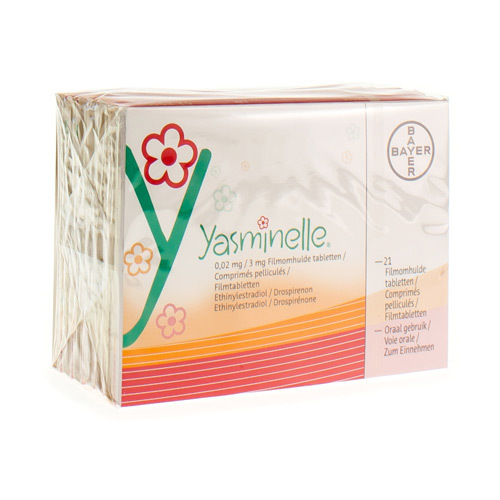 Yasminelle 0,02 Mg / 3 Mg (6 X 21 Comprimes)