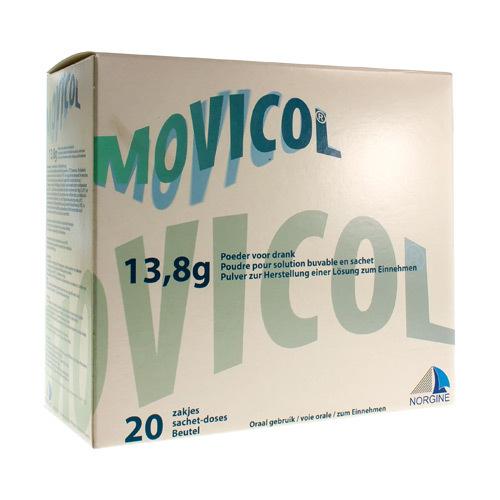 Movicol Impexeco 13,8 G (20 Sachets)