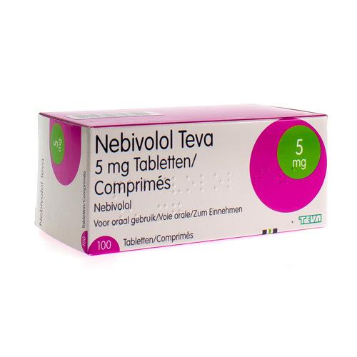 Nebivolol Teva 5 Mg (100 Comprimes)