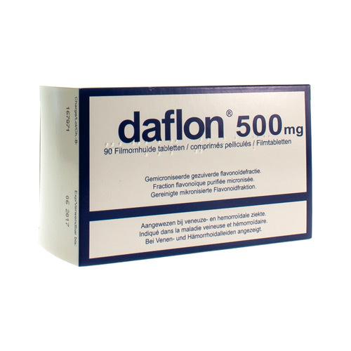 Daflon Impexeco 500 Mg (90 Comprimes)