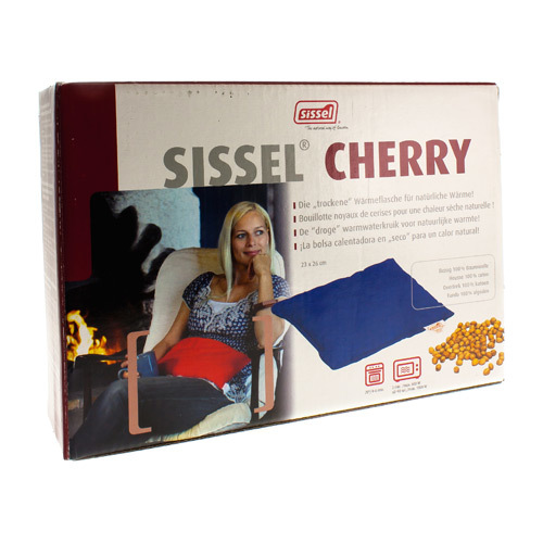 Sissel Coussin Cherry Rouge23X26