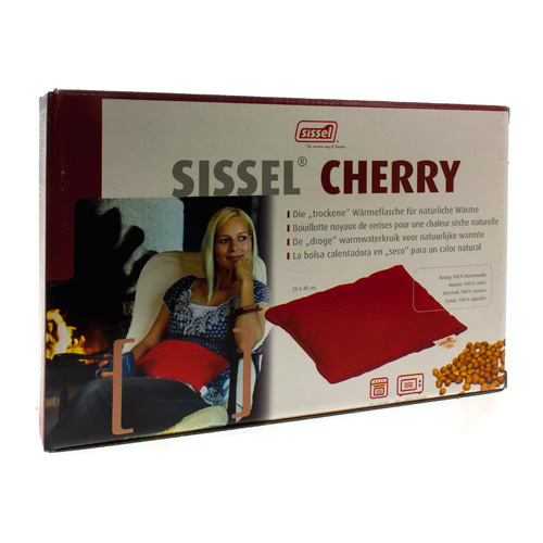 Sissel Coussin Cherry Rouge20X40