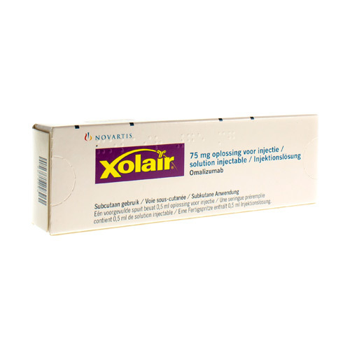 Xolair 75 Mg (1 Seringue)