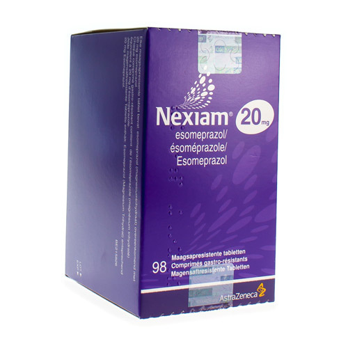 Nexiam 20 Mg (98 Comprimes)