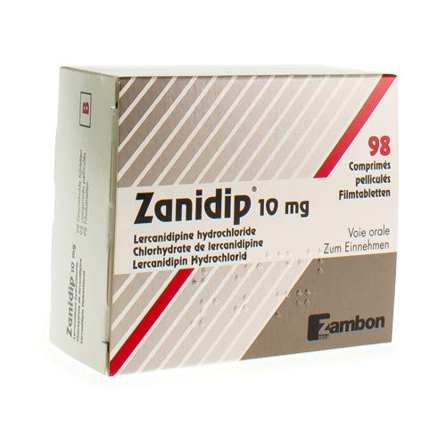 Zanidip 10 Mg (98 Comprimes)