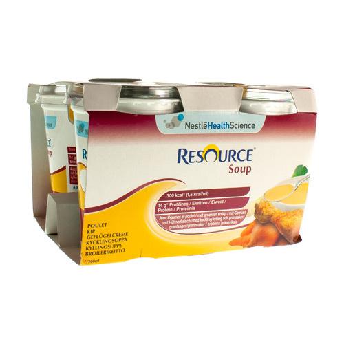 Resource Soup Poulet (4 X 200 Ml)