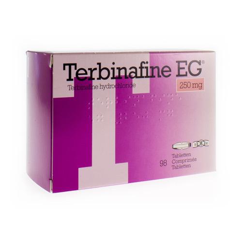 Terbinafine EG 250 Mg (98 Comprimes)