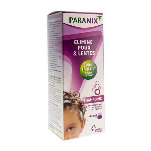 Paranix Shampooing + Peigne (200 Ml)