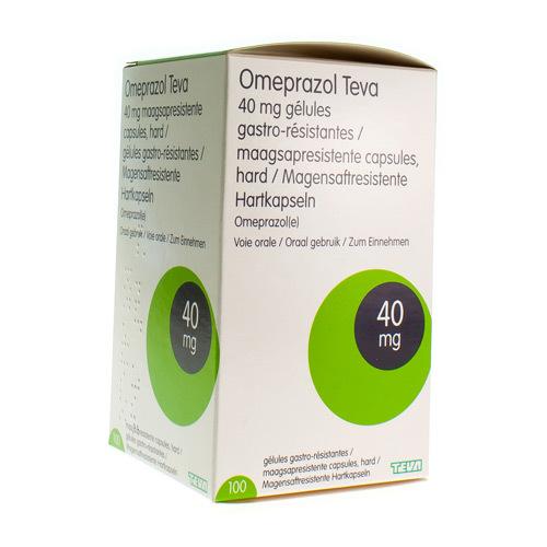Omeprazole Teva 40 Mg (100 Gelules)