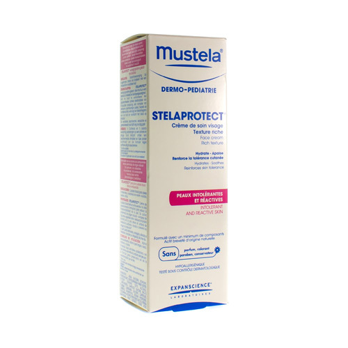 Mustela DP Stelaprotect Gezichtscrème Rijk (40 ml)