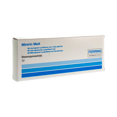 Minirin Melt 60 Mcg (30 Lyophilisats)