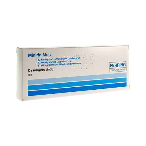 Minirin Melt 120 Mcg (30 Lyophilisats)