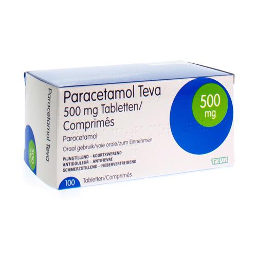 Paracetamol Teva 500 Mg (100 Comprimes)