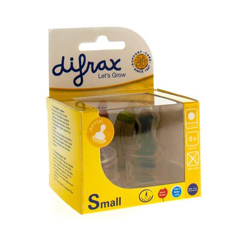 Difrax Tetine Plat Small 2Pcs