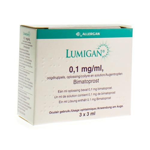 Lumigan 0,1 Mg/Ml (3 X 3 Ml)