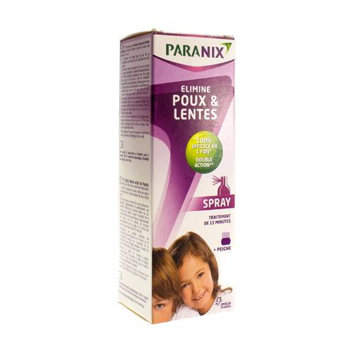 Paranix Spray Avec Peigne (100 Ml)