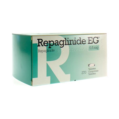 Repaglinide EG 0,5 Mg (270 Comprimes)