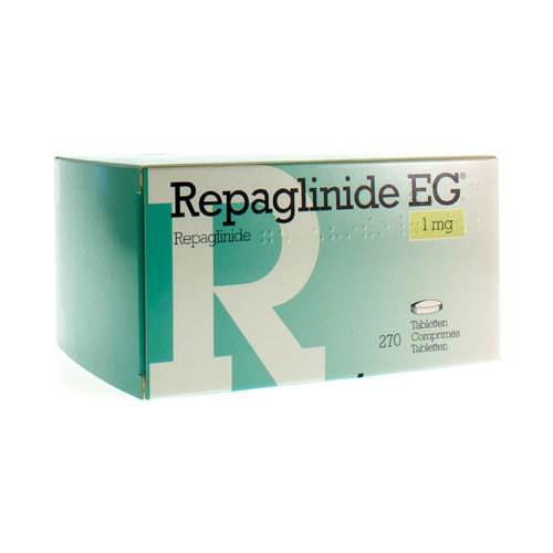 Repaglinide EG 1 Mg (270 Comprimes)