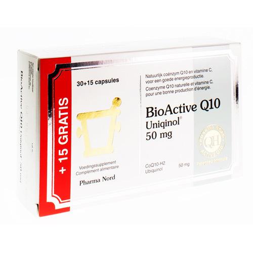 Bioactive Q10 50Mg Promopack Caps 30+15