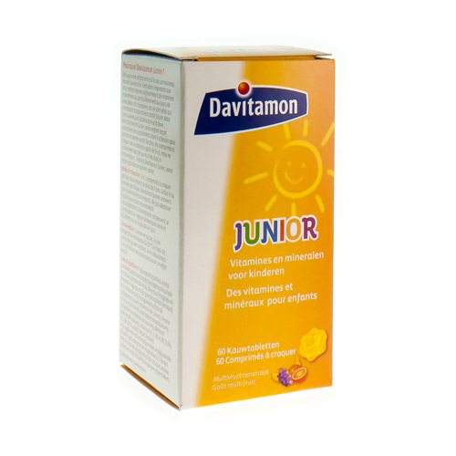 Davitamon Junior Goa»T Multifruit  60 Comprimes a Croquer