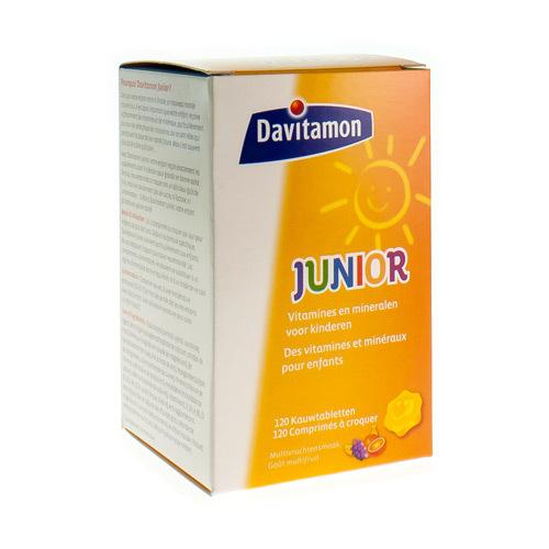 Davitamon Junior Goa»T Multifruit  120 Comprimes a Croquer