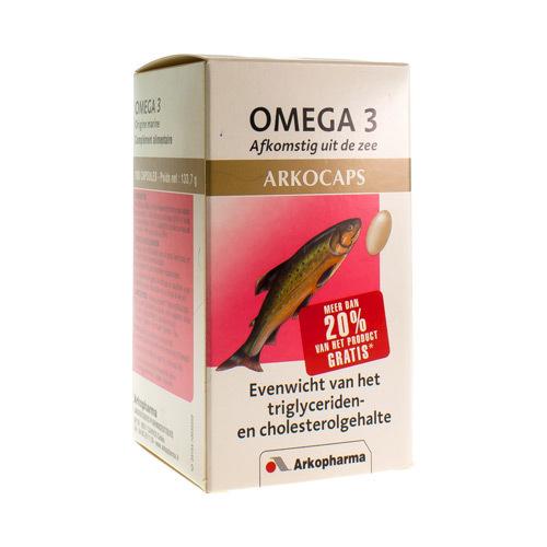 Arkocaps Omega 3  180 Capsules