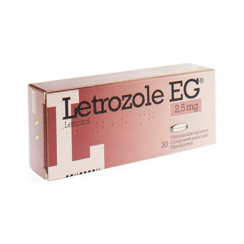 Letrozole EG 2,5 Mg Comprimes 30