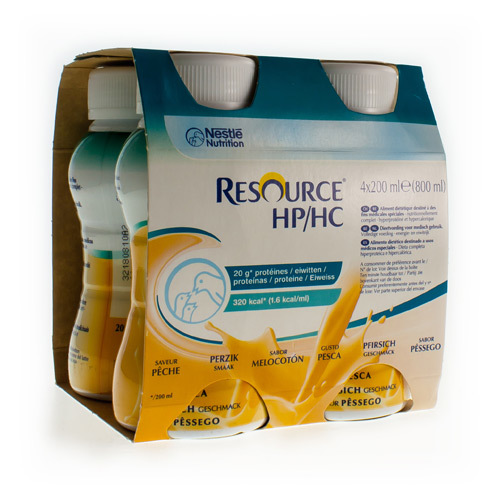 Resource Hp/Hc Paªche (4 X 200 Ml)