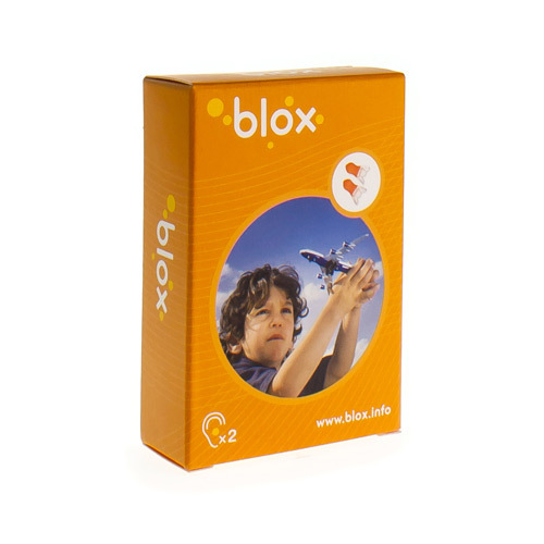 Blox Avion Enfant Anti-Pression Protection Auditive  1 Paire
