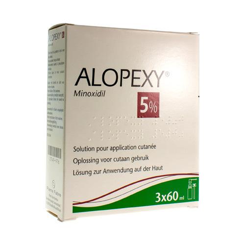 Alopexy 5%  3 X 60 Ml
