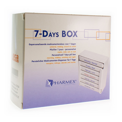 Pharmex Pillbox 7 Dagen Nl/Fr