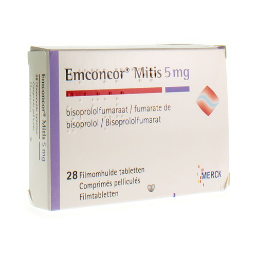 Emconcor Mitis 5 Mg (28 Tabletten)